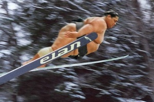 It isn't over till the fat sumo man skis.