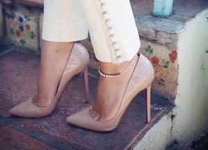 diamond ankle bracelet-louboutin