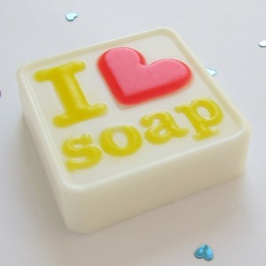 glam I heart soap