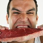 Man-eating-meat