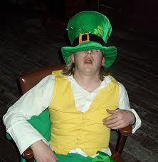 drunk leprechaun ibeatyoucom