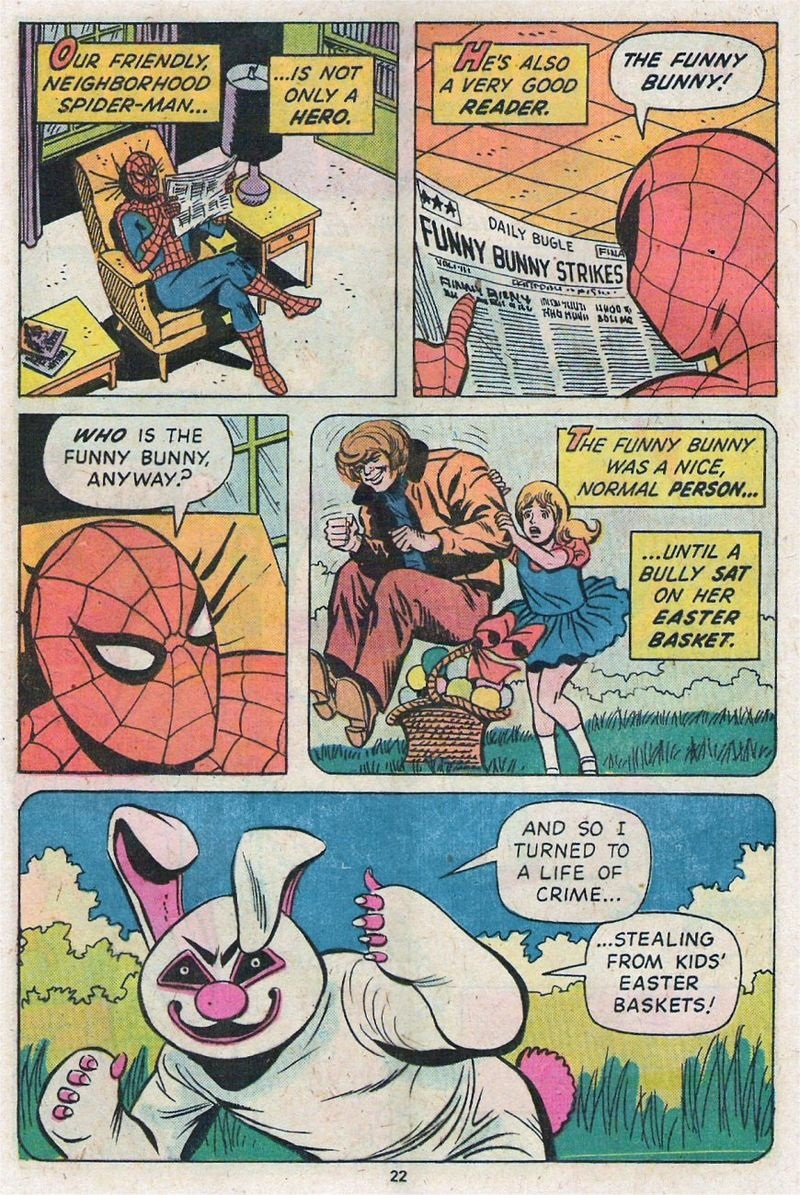 SPIDER-MAN SAVES EASTER!