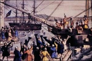 1773, the Boston Tea Party