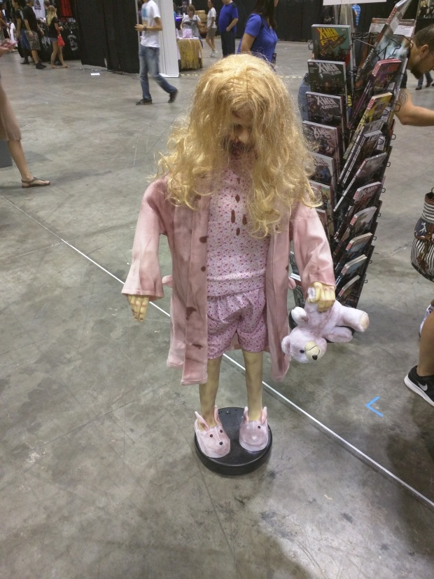 This was a motion controlled zombie child that would run into your feet if you were not looking...
