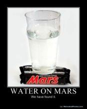 wateronmars