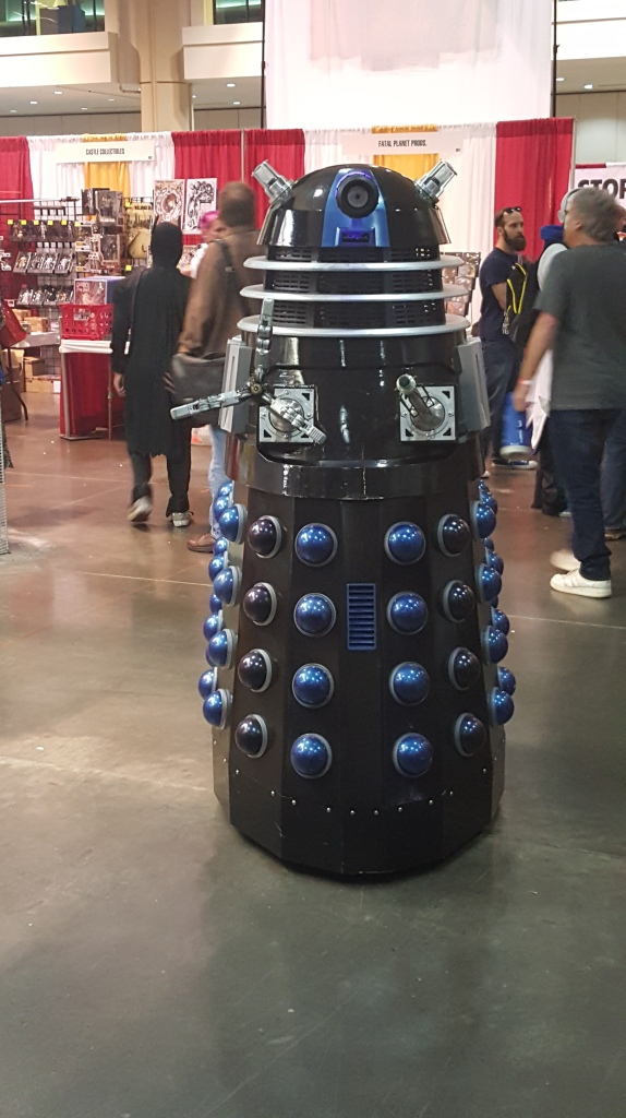 One of those Pepper Shakers from Dr. Who.
