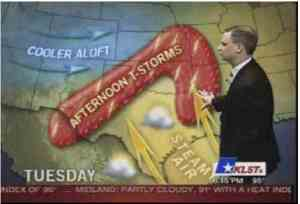 And now over to Dick, with the weather