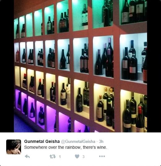 gunmetal wine