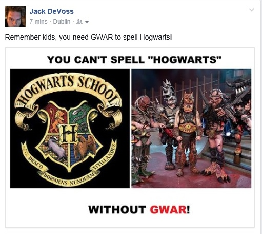 jack hogGWARts