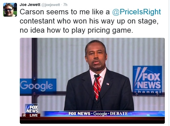 joe carson price is right