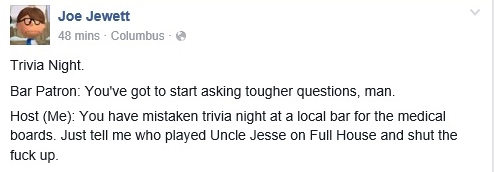 joe trivia jesse full house
